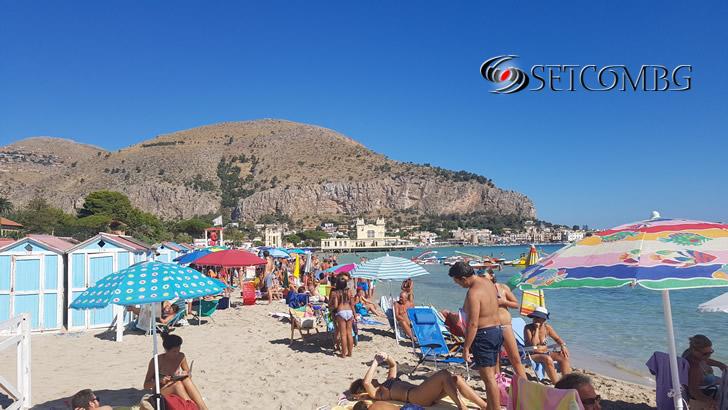 Mondello beach 1
