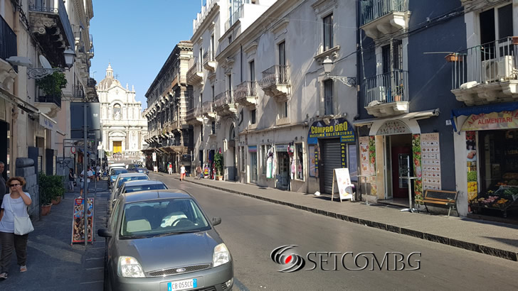 Catania streets