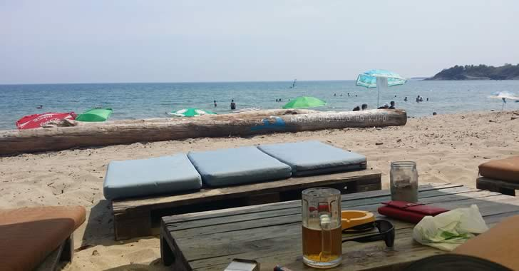 Плажни барове в Китен