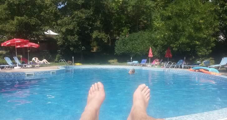 Swimming pool, hotel Rilena - Kiten